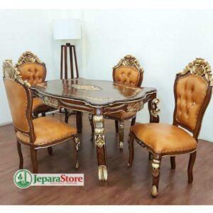 Meja Makan Royal Jepara